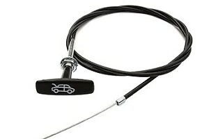 Mg Hood Bonnet Release Cable For Mgb Mgbgt tee Knob