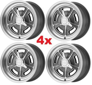 15 Vintage Wheels Rims Alloy Mag American Racing Vn502