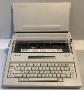 Brother Ax 600 Electronic Word Processing Typewriter Quiet Tested Working Usa