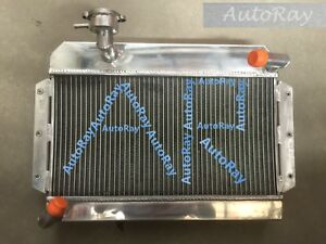 56mm Aluminum Radiator For Rover Mg Mga 1500 1600 1622 De Luxe 1955 1962
