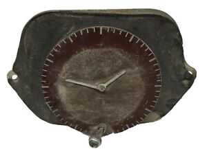 1940 S Dash Clock Geo W Brog Corp Chicago As Is For Parts Or Repair