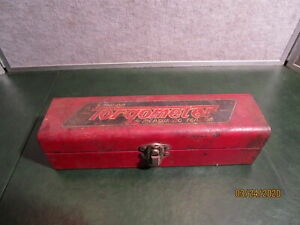 Vintage Snap On Tool Torqometer Metal Box No Tool Included