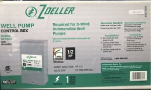 3 Wire 1 2 Hp Zoeller Well Pump Control Box Submersible