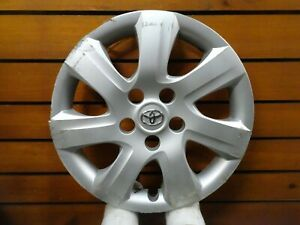 1 Oem 2010 2011 Toyota Camry 16 Wheel Cover Hubcaps 61155 42602 06050 B