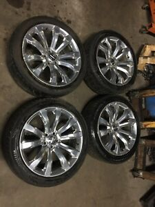 Chrysler 300 Dodge Charger Challenger 20 Inch Rims Tires Set 5x115 Tpms Lugs Oem