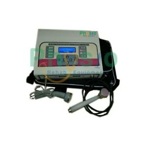 Physiotherapy Ultrasound Therapy 1 Mhz 3 Mhz Combo Unit For Pain Relief