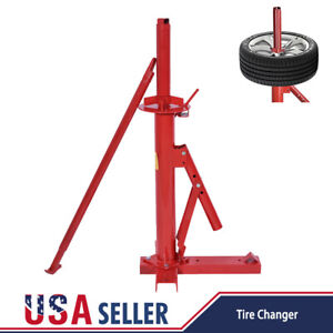 Portable Tire Changer Car Truck Motorcycle Manual Bead Breaker Tool Machine Us