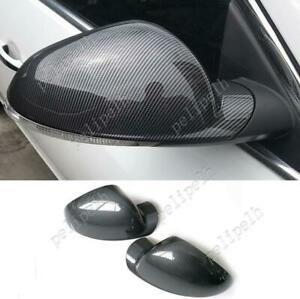 2pcs Abs Carbon Fiber Sideview Mirror Replacment Cover For Buick Regal 2012 2017