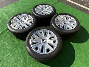 Real Bentley Wheels Rims Oem Factory Tires Rims Pirelli Rare Gt Gtc Rare