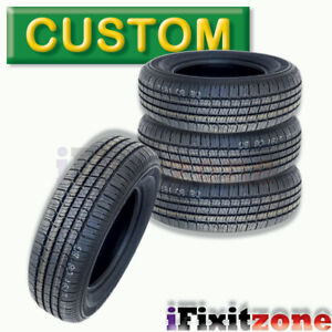 4 Tbc Brand Custom 428 A S P215 75r15 100s Wsw All Season Performance Tires