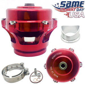 Q Series 50mm Blow Off Valve Bov ver 2 Fits Tial Flange Red Usa Shipping