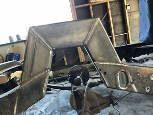 C Notch Kit 1 Piece Set 2x4 Weld In Custom Bagged Air Ride S10 Silverado Truck