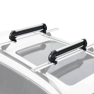 Universal Roof Mount Ski Snowboard Car Rack Carrie Carry 4 Snowboard 6 Pair Skis