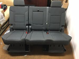 2007 2020 Tahoe Yukon Escalade2nd Row Grey Seats Bench Cheapest Complete Likenew