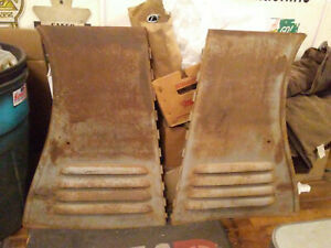 35 1935 Chevy Chevrolet Pickup Truck Hood Sides 4 Louver Steel Panels Original