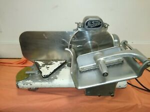 Rare 1930s Model 311 Working Tested Hobart Meat Cheese Slicer Vintage Antique