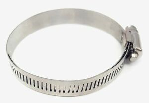 Sae Size 20 Lined Hose Clamp All Stainless 13 16 To 1 3 4 Range