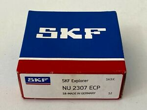 Skf Nu 2307 Ecp Cylindrical Roller Bearings 35x80x31mm Nu2307ecp New