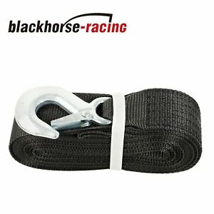 Deluxe Boat Trailer Replacement Winch Strap 10000lb 2 X20 Snap Hook Quick