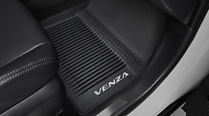 Genuine Toyota 2021 Newer Venza Rubber All Weather Floor Liners mats