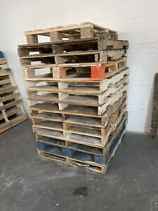 Recycled Wood Pallets 48 X 40 4 way Pallet Pickup Only