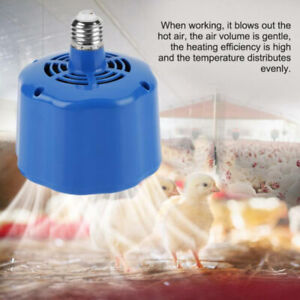 1 Pc Cultivation Heating Lamps Thermostat Fan Heater For Chicken Egg Incubator