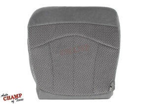 1999 2003 Ford F150 Xlt Driver Side Bottom Replacement Cloth Seat Cover Gray