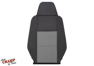 2003 2011 Ford Ranger driver Side Bottom Replacement Cloth Seat Cover Black gray