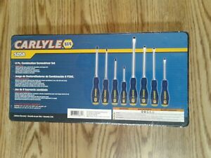 Carlyle Tools By Napa Sds8 8 Pc Screwdriver Set