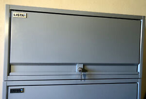 Lista Tool Cabinets Lot Of 2