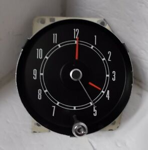 1968 Mercury Montego Comet Clock Beautiful Serviced Works 68 Cyclone