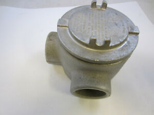 Crouse Hinds Gual69 Explosion Proof Junction Box L Style 2 New