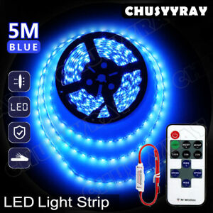 5m Blue 3528 Smd Led Strip Light Fit For Home Decoration Garden Decoration