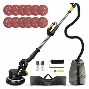 Drywall Sander Vacuum Attachment 7 Variable Speed Led Light Hose Bag By Ginour