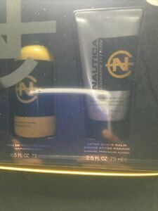 Nautica Competition for Men 2.5oz 75ml Cologne Spray Post Shave Soother Set $110.00