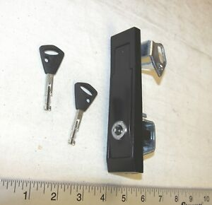 National Vending Machine L Handle Assembly With An Abloy Plug Lock And 2 Keys