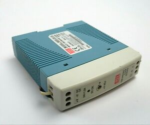 Mean Well Mdr 20 24 Ac To Dc Din rail Power Supply 24v 1 Amp 24w 1 5