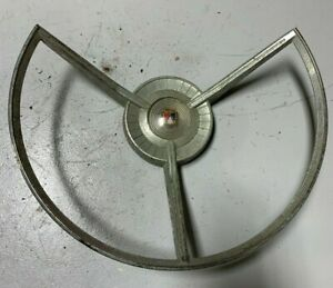 1959 Original Ford Fairlane Steering Wheel Horn Ring Interior Trim Ornament