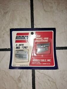 Ammco Brake Hone Stones 1741 2 Sets Size 1 X 3 16 Nos For Model 1650 Hone