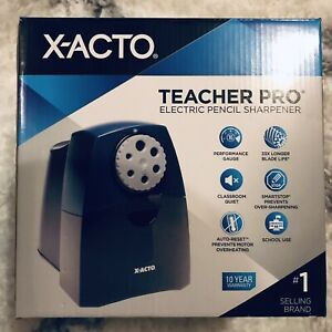 X acto Teacherpro Classroom Electric Pencil Sharpener Blue pl7