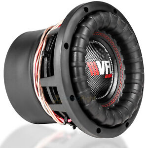 American Bass 8quot; Competition Subwoofer Dual 4 Ohm 1200W Max Sub VFL 8D4 Single $129.95