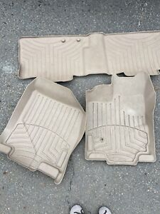 Weather Tech Floor Liners Ford Edge Front And Back Row 2010