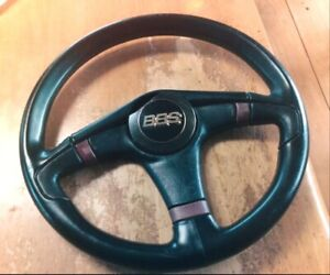 Original Bbs Steering Wheel Vw Audi Bmw Mercedes Porsche Gtr 240sx S13 R33 Car