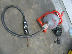Ridgid Kollmann K 40 Sink Drain Cleaning Machine