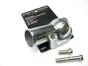 Spectre Chrome Plated Aluminum Thermostat Housing Water Neck 66 Up Chevy Sbc Bbc