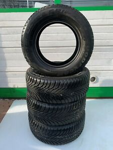 Set Of Four Used Goodyear Eagle Ultra Grip Winter Tires 225 60 R15