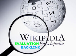 Wikipedia Backlink Evaluation Blog Website Business Boost Seo Google Ranking