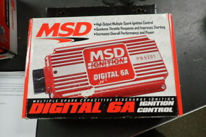 Msd Ignition 6201 Digital 6a Ignition Controllermultiple Spark Sbc Bbc Sbf Chevy