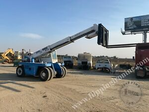 Specialized Forklift For Sale Gradall 552 Telescopic Propane Powered