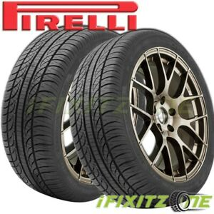 2 Pirelli P Zero Nero 245 35r20 95w Tires Uhp Summer Performance Pzero